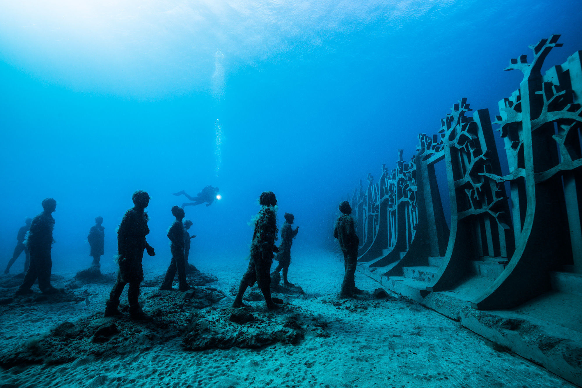 Image result for mexico underwater museum