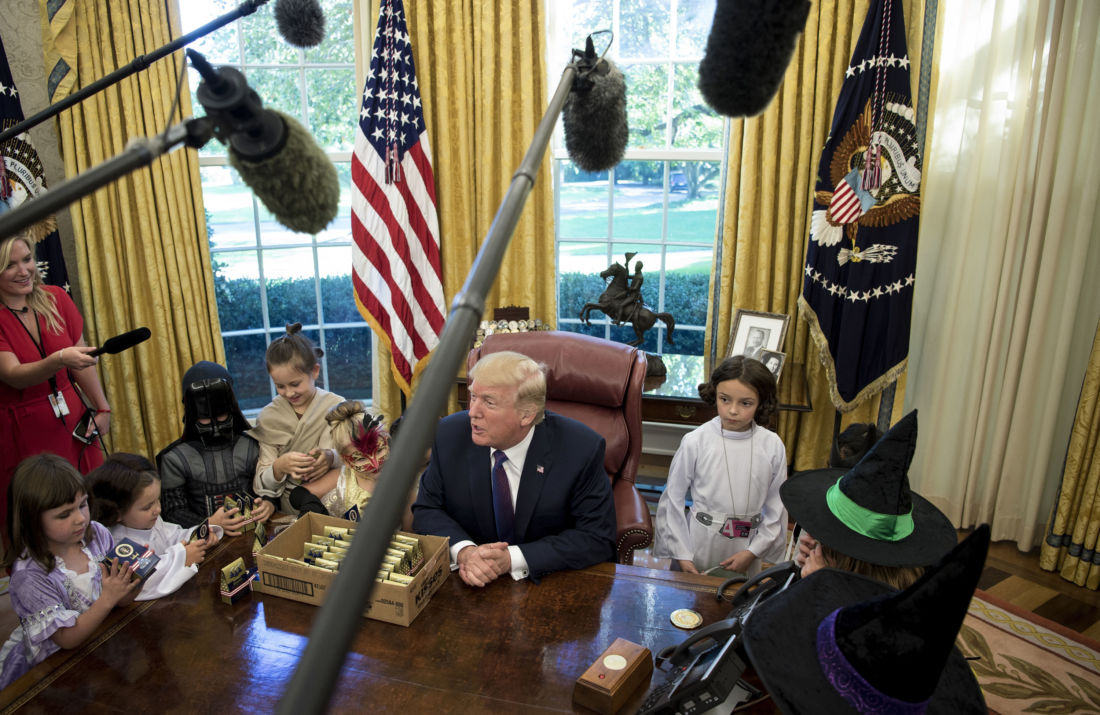 Donald trump tacle les parents journalistes denfants venus visiter