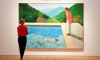 david hockney « Portrait of an Artist »