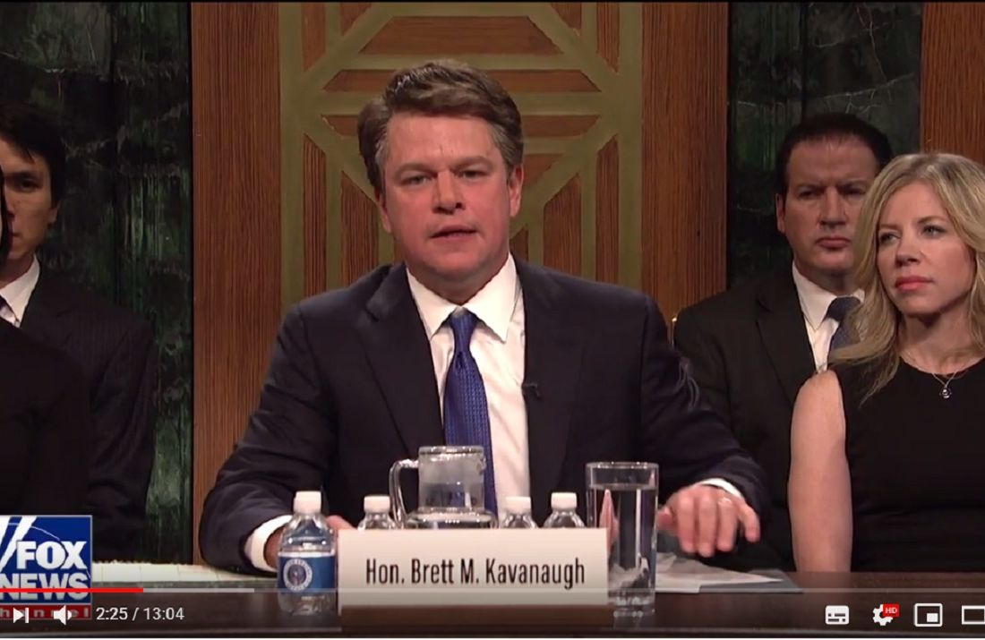 Matt Damon Kavanaugh