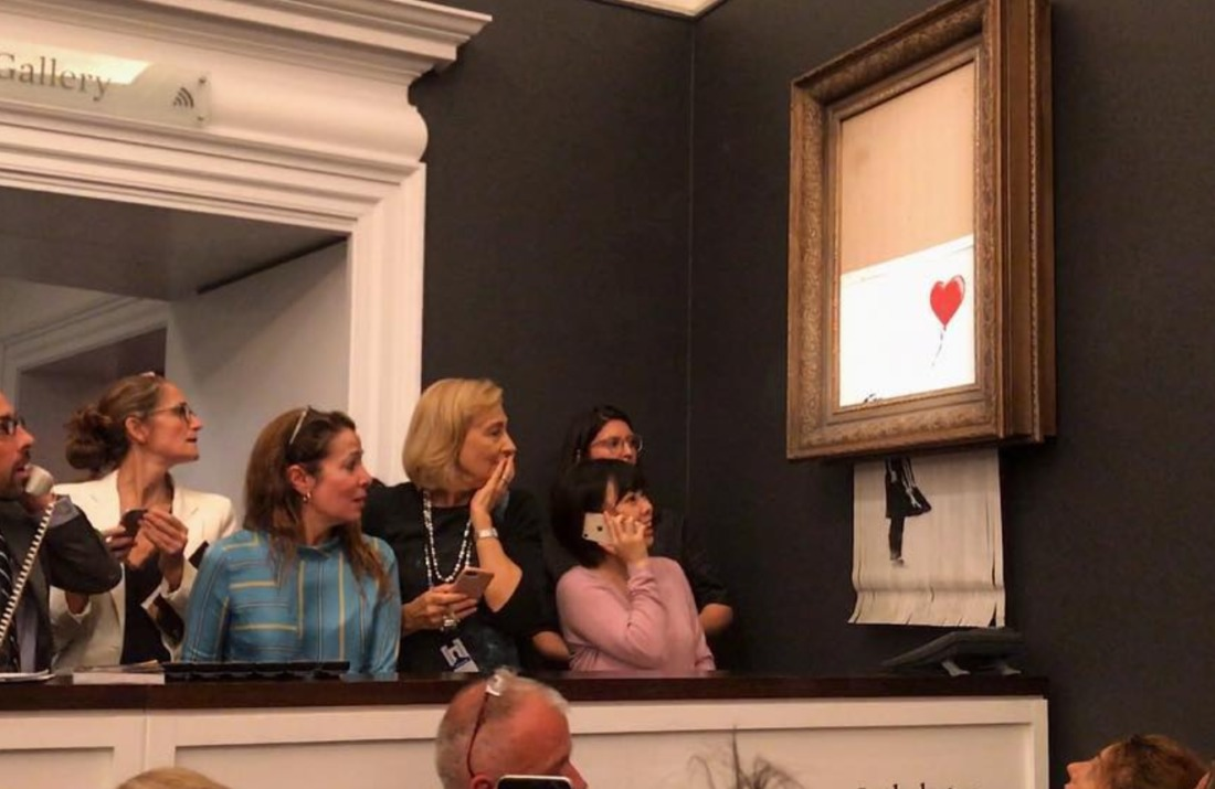 banksy toile canular