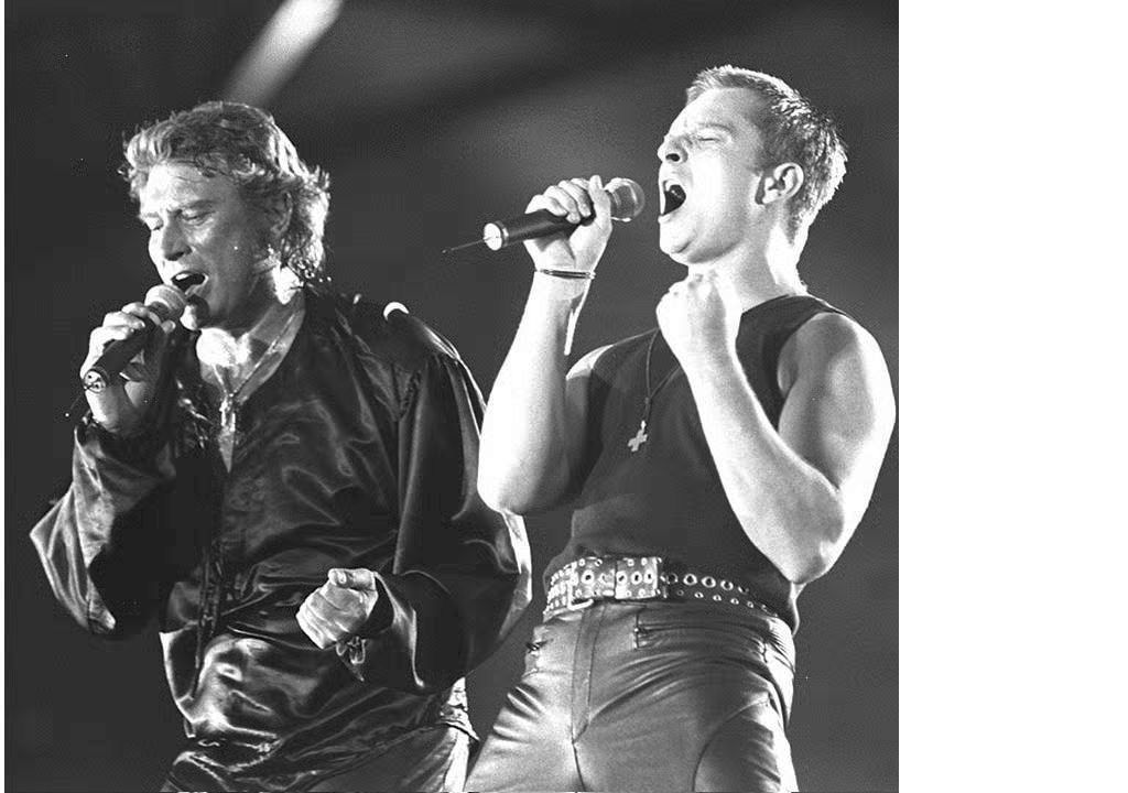johnny hallyday david hallyday