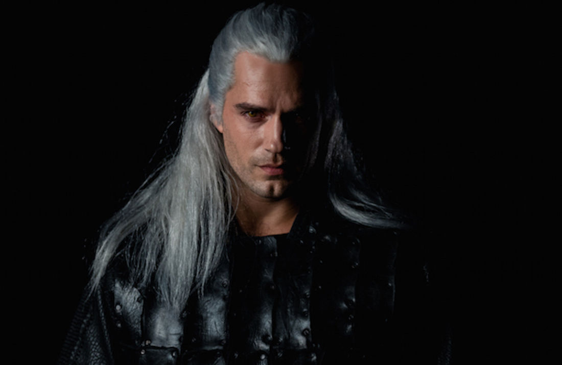 henry cavill the witcher mème