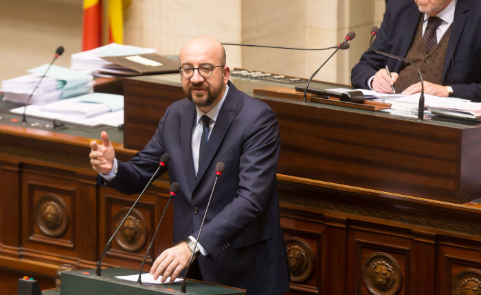charles michel démission