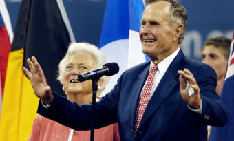 george w.h. bush barbara