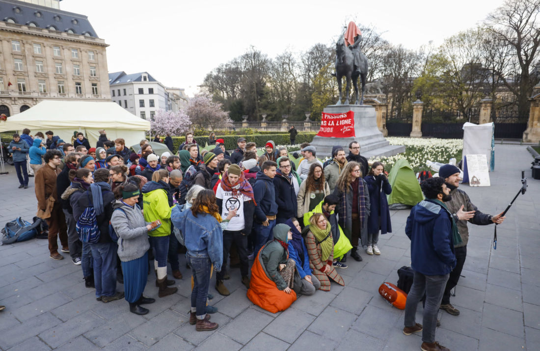 occupy for climate