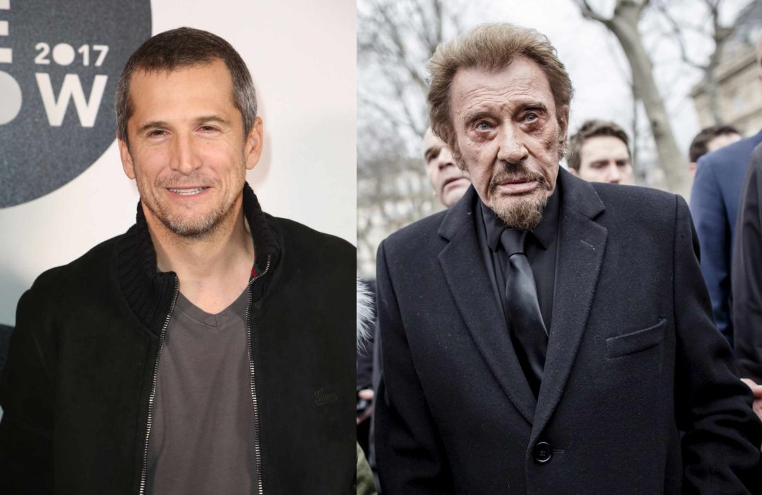 Guillaume Canet, Johnny Hallyday