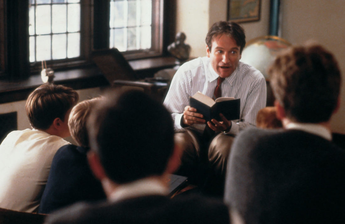 robin williams le cercle des poètes disparus