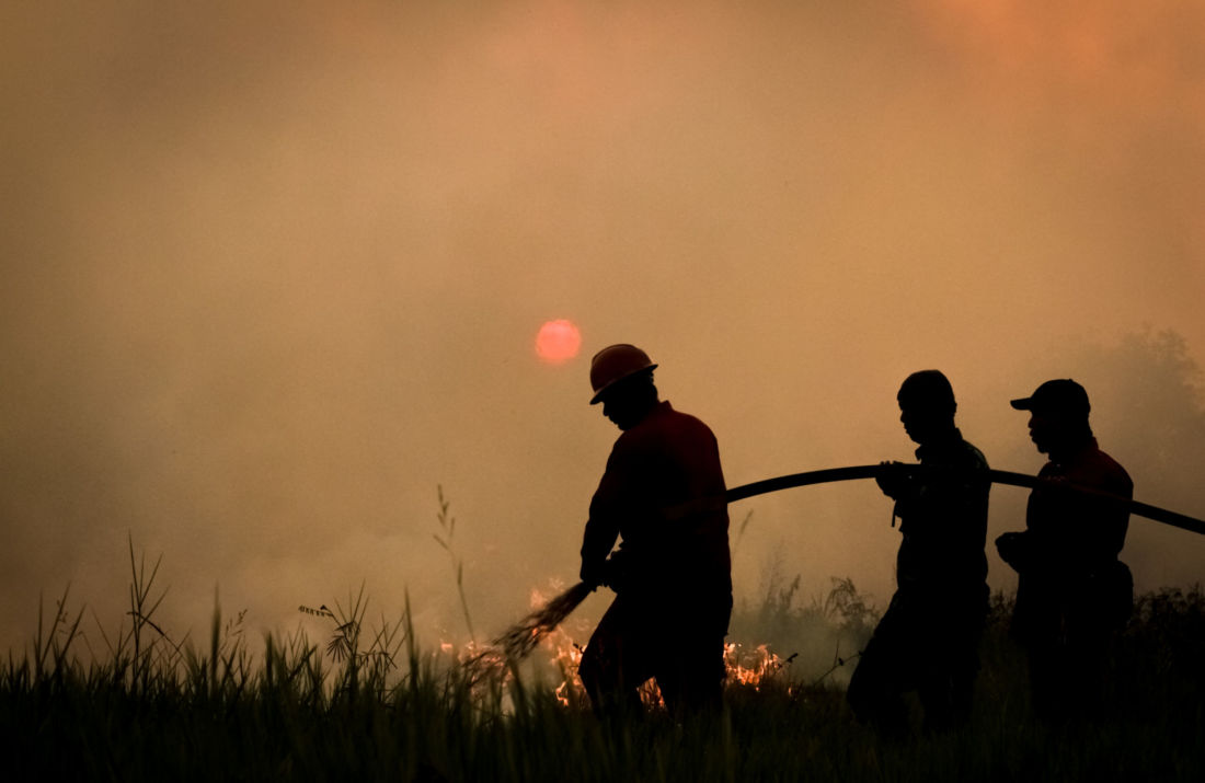 indonesie incendies