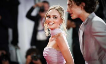 lily-rose depp thimothee chalamet