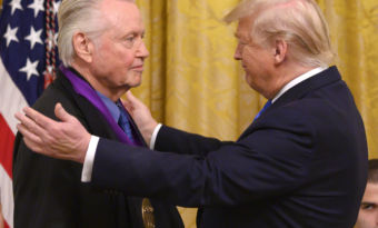 jon voight décoré par Donald Trump