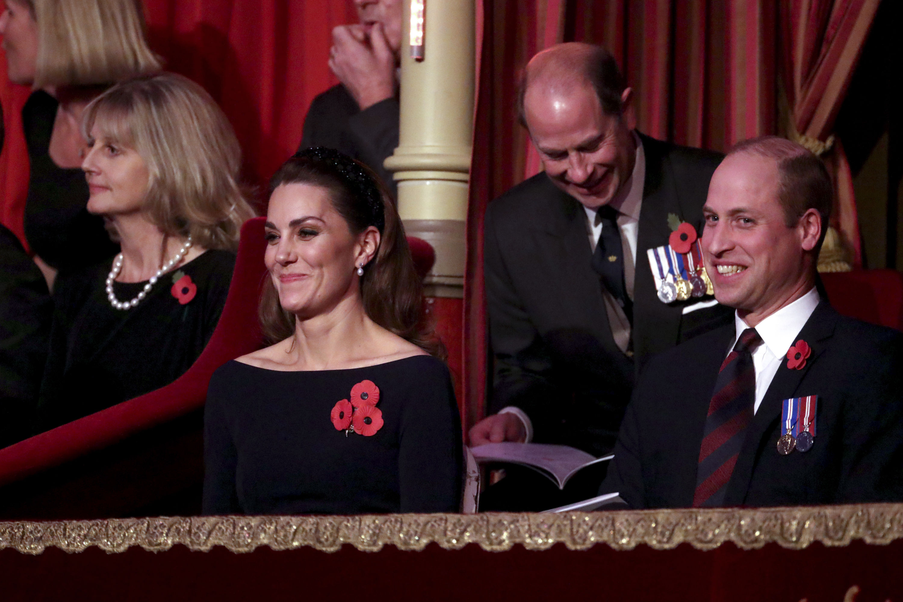 Kate et William au Festival Remembrance