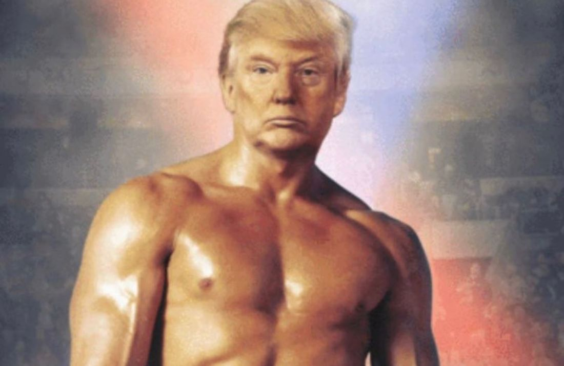 Donald Trump poste une photo de lui en Rocky Balboa