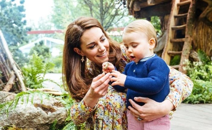 Kate Middleton évoque tendrement le prince Louis