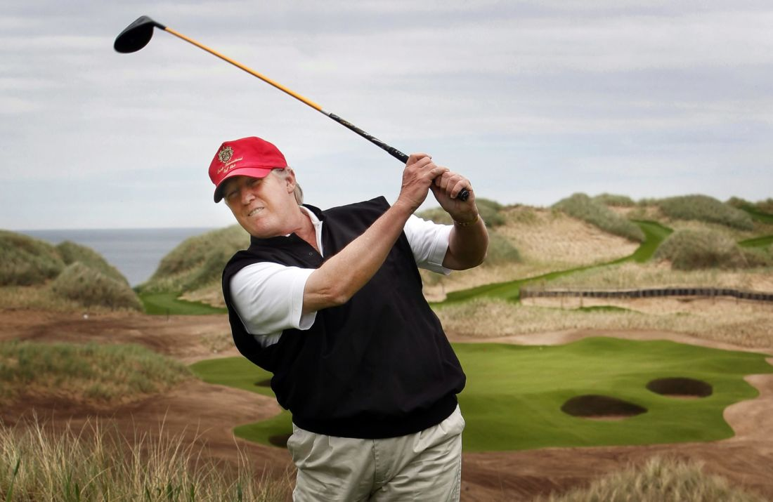 donald trump golf