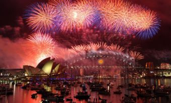 sydney feu d'artifice