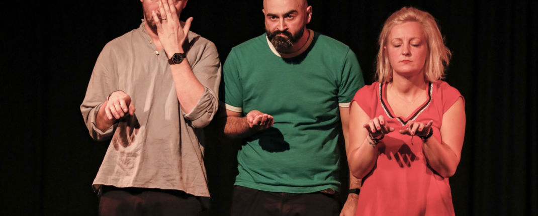 La ligue d'impro présente son spectacle Armando