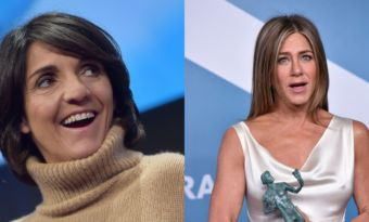 florence foresti jennifer aniston