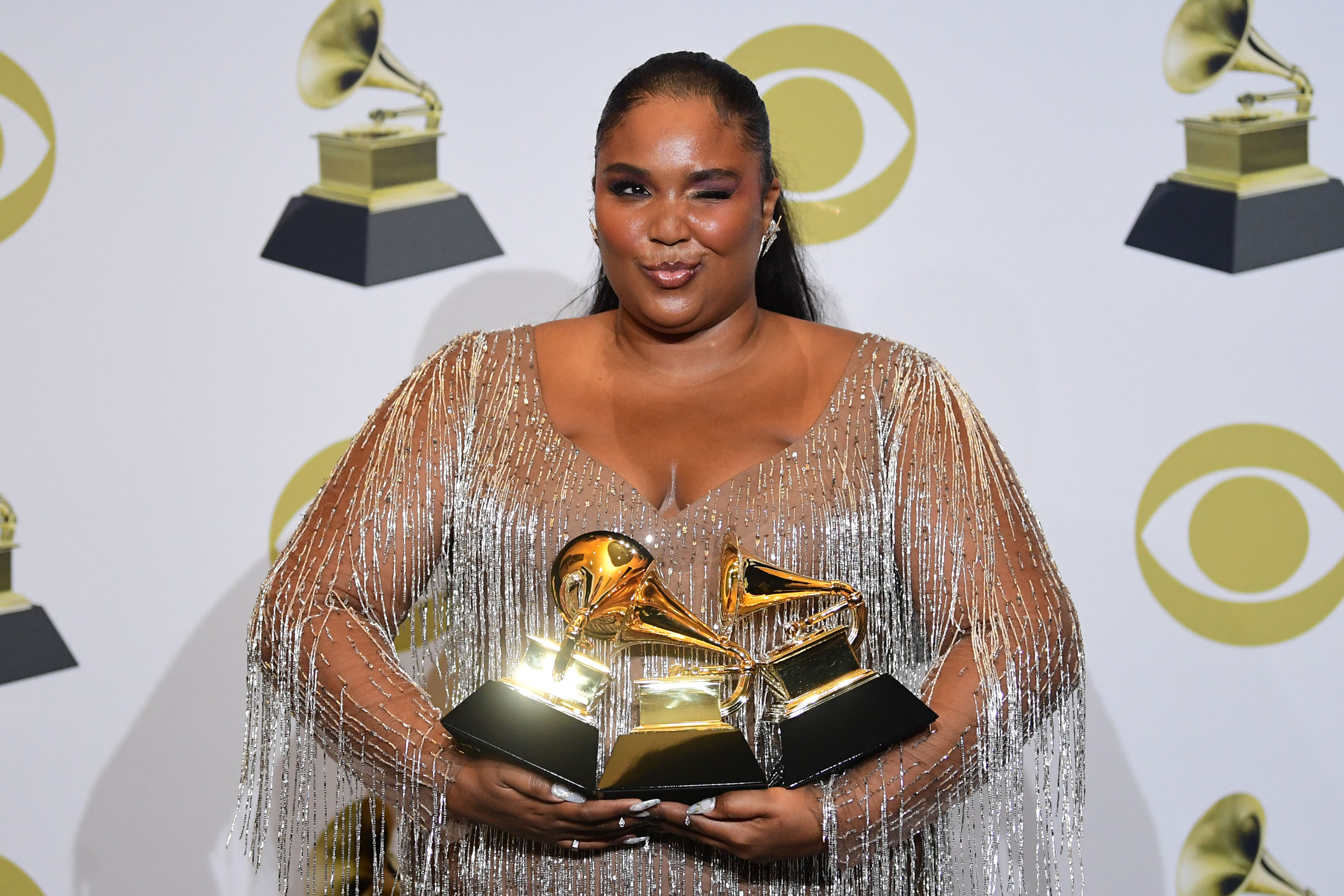 Lizzo aux Grammy awards