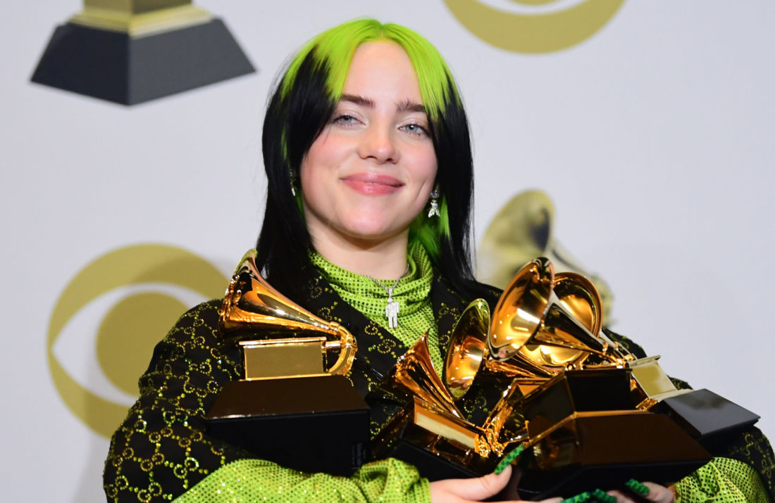 Billie eilish grammy awards