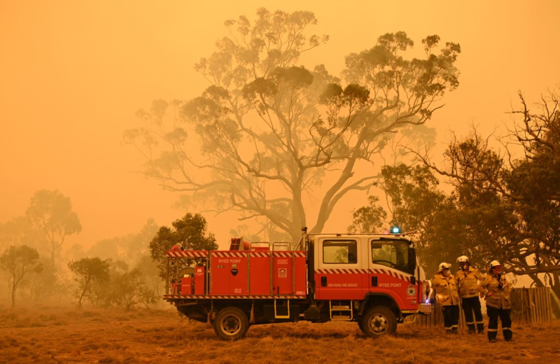 Australies incendies à Canburra