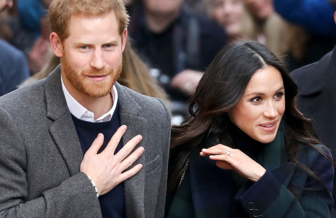 Prince Harry and Ms. Meghan Markle visits Edinburgh