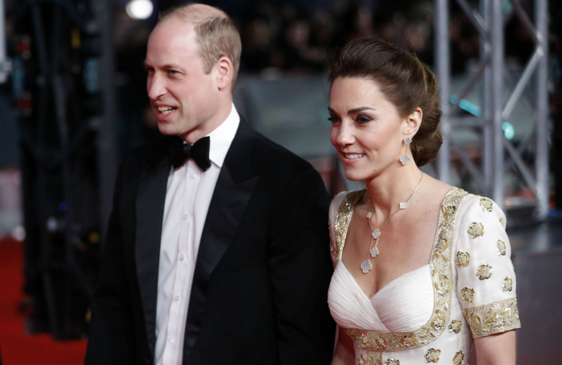kate middleton william baftas