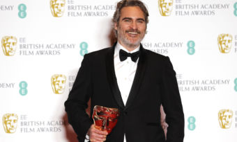 Joaquin Phoenix Prince William Bafta
