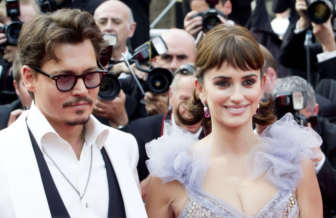 penelope cruz johnny depp