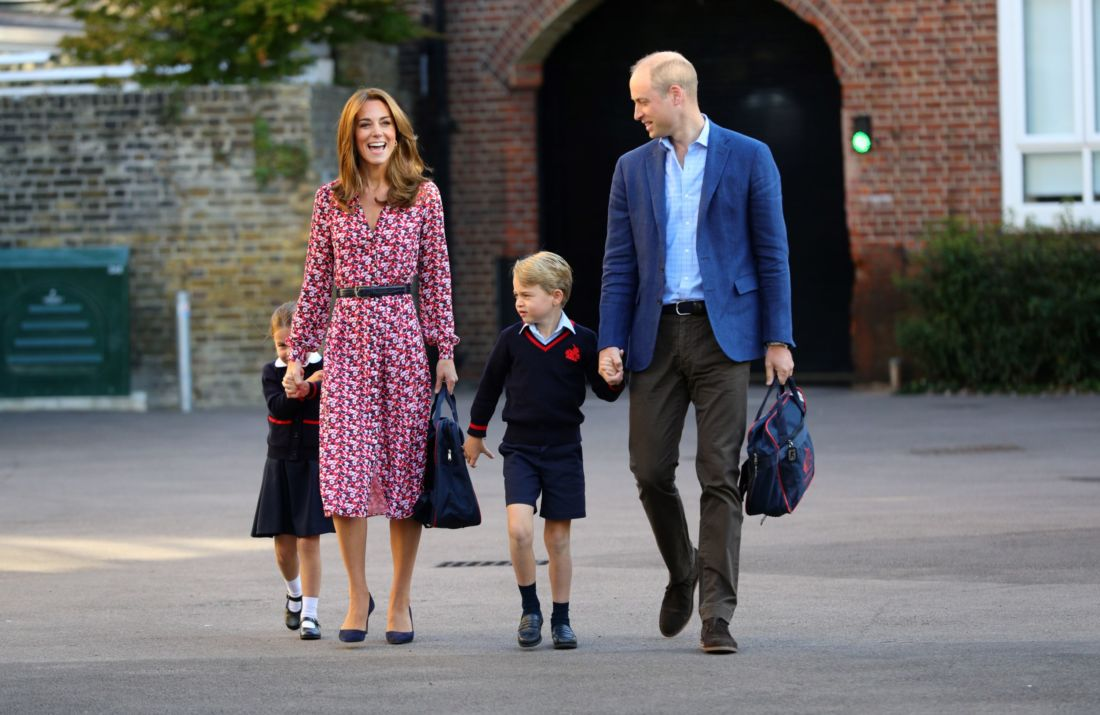Famille royale George Charlotte Kate