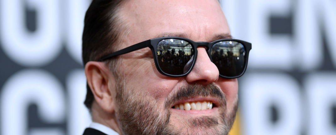 ricky gervais confinement