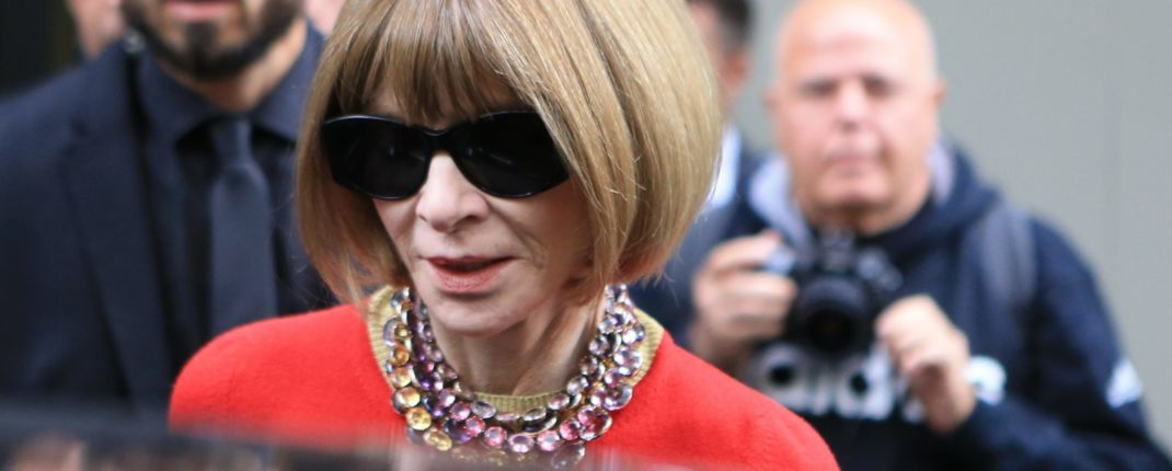 Anna Wintour confinement jogging