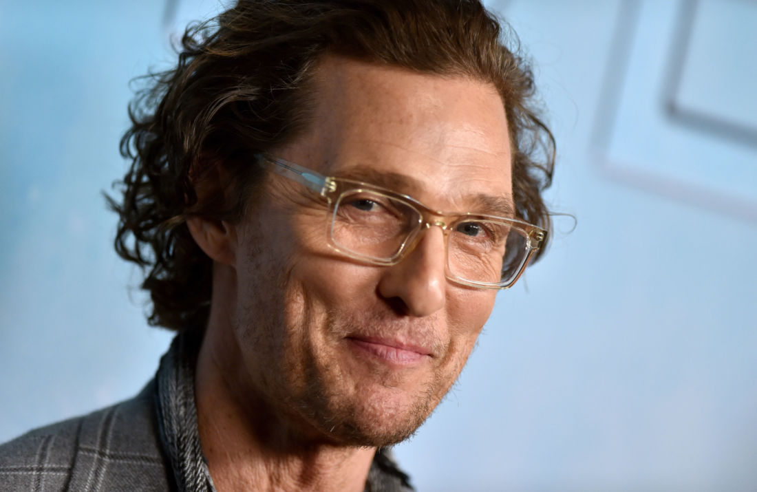 Matthew McConaughey confinement masque