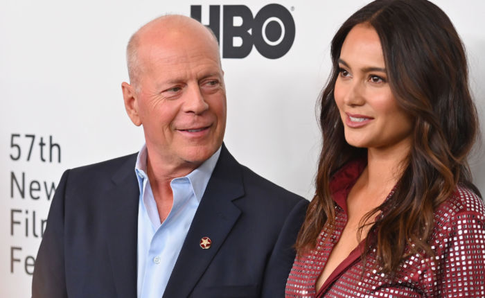 Bruce Willis Demi Moore Emma Heming