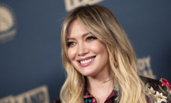 Hilary Duff coiffure