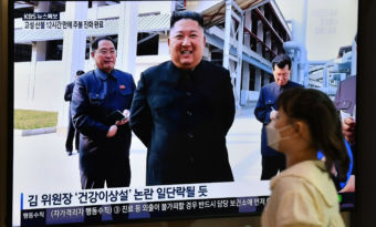 Kim Jong Un refait son apparition.