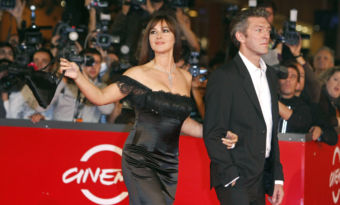 Monica Bellucci et Vncent Cassel