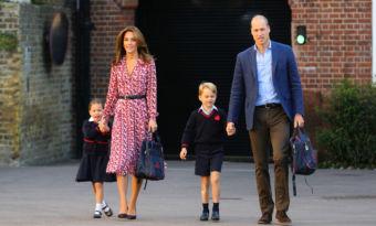 kate middleton william george charlotte régles éducation