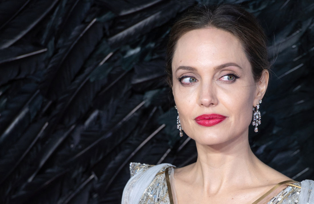 angelina jolie confinement enfants