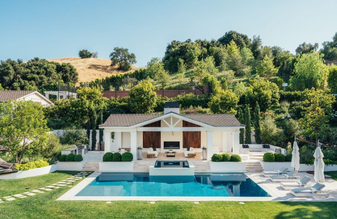 manoir the weeknd californie maison de stars