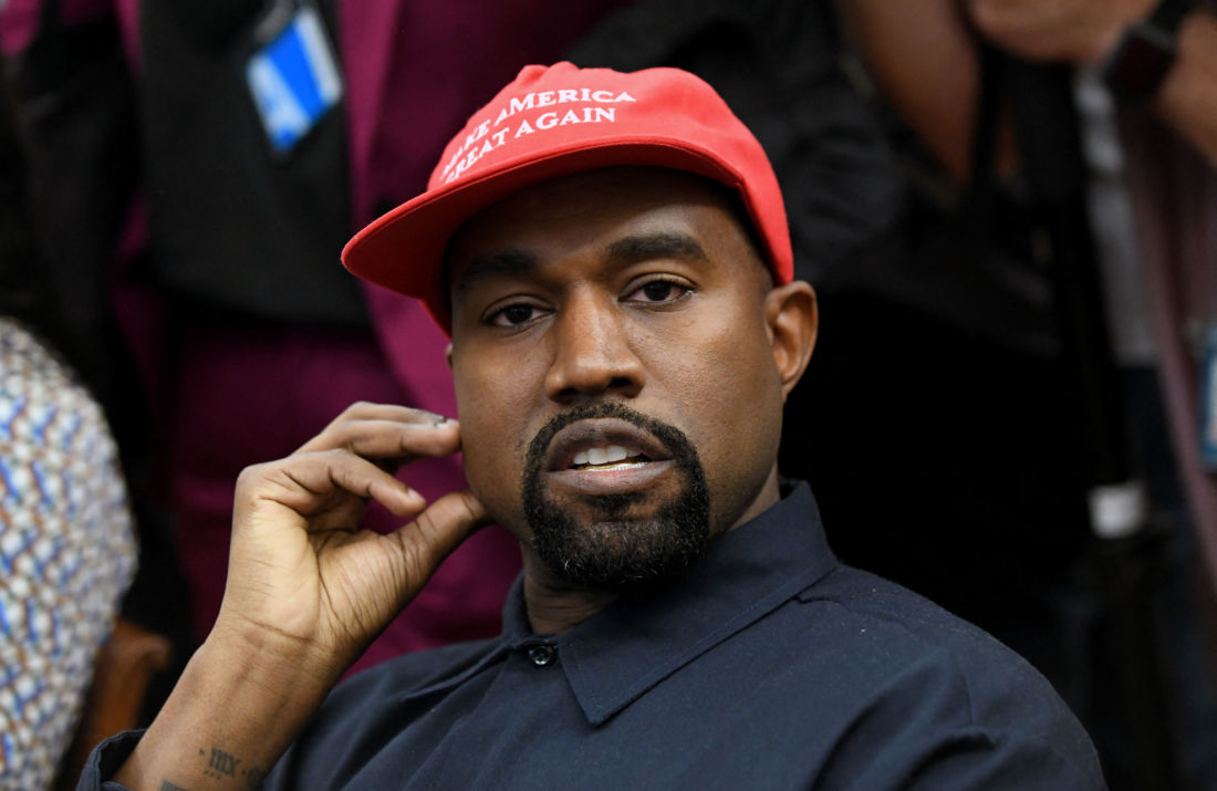 Kanye West candidat à la Maison Blanche? Trump suit avec attention