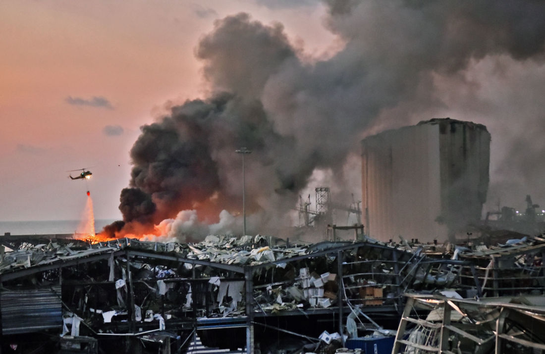 beyrouth liban explosion nitrate