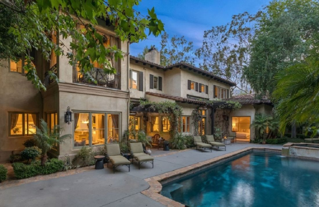 britney spears villa beverly hills