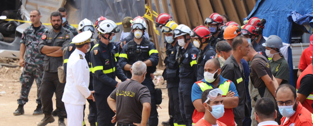 beyrouth explosion survivant