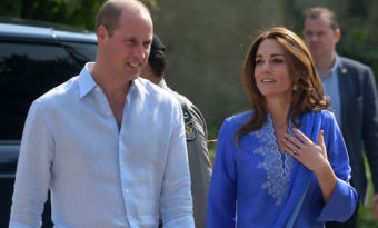 Kate et William, nouvel employé