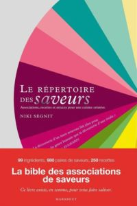 Le Repertoire des saveurs Niki Segnit 200x300 - 4 gourmet books to have in your kitchen
