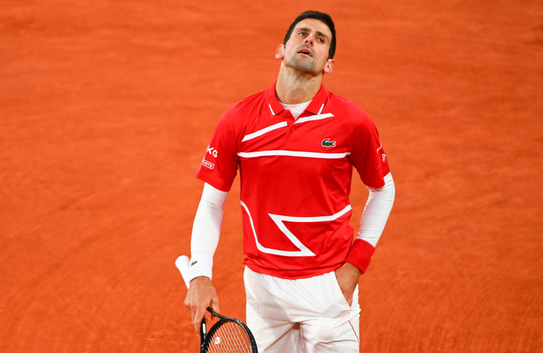 novak djokovic sexisme chris evert roland garros