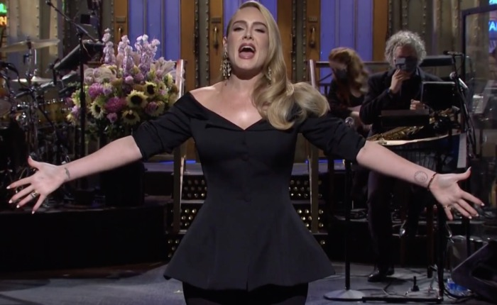 adele perte de poids saturday night live