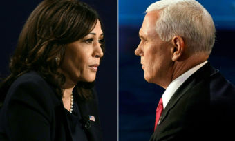mike pence kamala harris