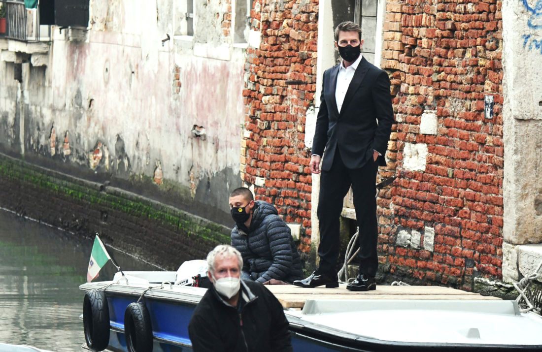 tom cruise mission impossible covid venise